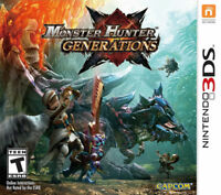 Monster Hunter Generations (Nintendo 3DS) Brand New Factory Sealed