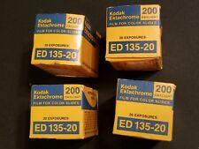 Lot (4) Kodak Ektachrome 200 daylight ED 135-20 Color Slide Film EXPIRED NEW