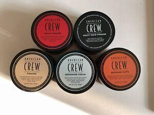 American Crew Pomade, Grooming Creme, Defining Paste, Cream / Heavy Hold NEU!