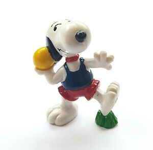 Figurine Schleich Snoopy Peanuts United Features Launcher - Weight 2 3/8in