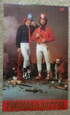 Vintage Nike Poster - Fingers & Sutter -Baseball Players - 1982