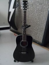 JOHNNY CASH-Martin Signature Black Acoustic 1:4 Scale Replica Guitar ~Axe Heaven