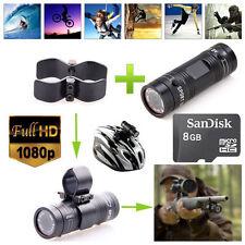 8GB F9 HD 1080P Gun Clip Sports Action Camera Mount For Hunting Shooting Shotgun