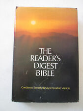READER'S DIGEST BIBLE Condensed from Revised Standard Version 1st Ed. HARDCOVER