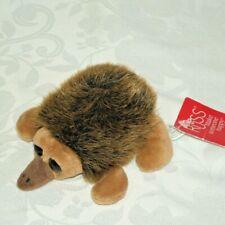 "Russ Echinda Anteater Ant Eater Brown Plush Stuffed Animal New 5"""