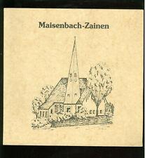 Maisenbach-Zainen Ortschronik