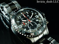 Invicta Men's Specialty FLIGHT Chronograph Gunmetal Tone Stainless Steel Watch