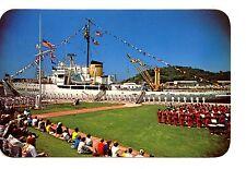 Ice Breaker Ship-Coast Guard Festival-Grand Haven-Michigan-Vintage Postcard