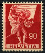 Switzerland 1941-59 SG#409a 90c Historical Definitive MNH #D45652