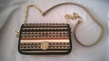 Tory BURCH Robinson adjustable chain MINI BORSA BAG BORSA DA SERA COME NUOVO!!!