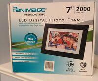 "New Pandigital Panimage 7"" LED Digital Photo Frame PI7002AWB with Remote Control"