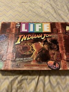 Indiana Jones The Game of Life 2008 Hasbro - Collectors Edition - COMPLETE