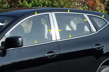 16PC STAINLESS STEEL WINDOW TRIM KIT FITS 2008 2009 2010 2011 2012 NISSAN ROGUE