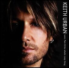 KEITH URBAN - LOVE PAIN AND THE WHOLE CRAZY THING ~ AUSTRALIAN COUNTRY CD *NEW*
