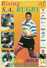 RISING STARS S.A RUGBY YOUNG BOLD & GIFTED SOUTH AFRICA BOOKLET BREYTON PAULSE