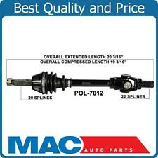 2002 Polaris Magnum 500 4x4 exc HDS Front Left or Right Complete CV Axle Shaft