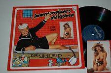 LP/DER KLEINE FREDY HEINDLER/IMMER ERWISCHT`S DIE KLEINEN/SEXY NUDE COVER/Philip