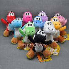 "10 pcs Super Mario Bros Plush Doll Soft Figures YOSHI 4"""