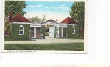 Texas Gate    Mount Vernon VA   Unused   Postcard 8293