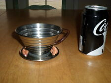 KALITA BRAND - SINGLE SERVE BREWER COFFEE MAKER, METAL CONSTRUCTION, VINTAGE