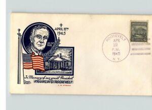 Scarce STAEHLE! President Roosevelt Death, Truman becomes President, 4-12-45
