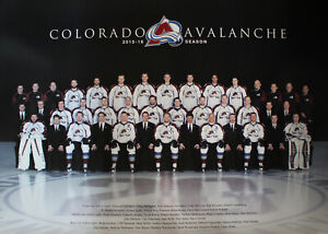 Colorado Avalanche 2015-16 Season Full Team Photo 24x17 Poster 27468