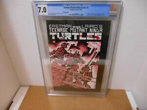 Teenage Mutant Ninja Turtles #1 CGC 7.0 Third Printing Mirage Studios1985