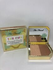 Too Faced Tutti Frutti Pineapple Paradise Bronzer Highlighting Duo - Full Size