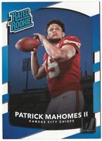 2017 Donruss RATED ROOKIE PATRICK MAHOMES RC AJ GREEN Andrew Luck MUCH MORE