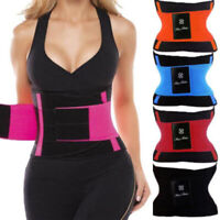HO_ Waist Trainer Cincher Trimmer Sweat Belt Men Women Shapewear Gym Body Shaper