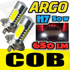 2x H7 UPGRADE SUPER WHITE COB CREE LED BULBS DIPPED MAIN HEADLIGHT BULBS LAMPS