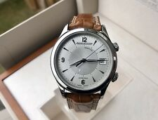 JAEGER LECOULTRE MASTER CONTROL MEMOVOX -40MM ALARM WATCH -Q1418430-BOX/PAPERS-