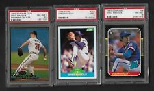 GREG MADDUX Atlanta Braves PSA 9 8.5 8 1987 Donruss Rookie RC  Members Only 1993