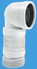 McAlpine wc-con8f 110mm 90 ° flessibile WC connettore wc-con8-f