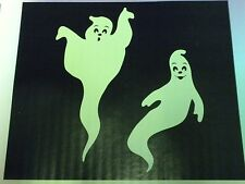 Halloween Decoration Window Clings Giant Glow in the Dark Ghosts 23 inches Tall