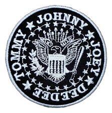 Ramones Punk Rock Band T Shirts Emblem Mr19 Iron on Patches