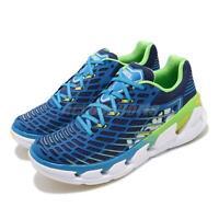 Hoka One One Vanquish 3 Blue Green White Mens Running Shoes 1014791-BABP