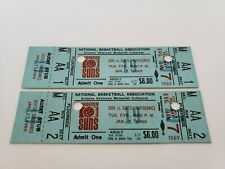 Rare 1969 Phoenix Suns Vs Seattle Supersonics Ticket Stubs