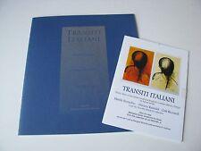 2004 Transiti Italiani Italian Screen Prints Leepa Rattner Museum of Art Program