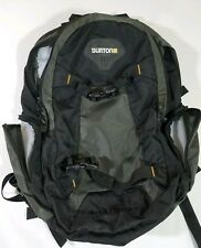 BURTON Backpack Laptop Pack Unisex Adult Large Skateboard Snowboard Strap Black