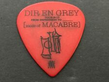 Guitar Pick DIR EN GREY TOUR 16-17 FROM DEPRESSION TO MACABRE Red ESP Kaoru