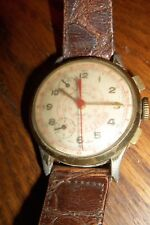 Vintage Pilot Cimier Sport Swiss Mechanical Chronograph men's watch Parts Repair