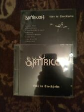 SATYRICON-live in stockholm-bootleg-CD-black metal