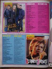 DEPECHE MODE DAVID BOWIE BRAVO SONGBOOK ARTIKEL CLIPPING 21/87 80er Jahre 80s