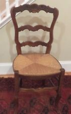 Antique Chair with Rush Seat