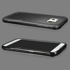 For Samsung Galaxy S6 Shockproof Rugged Thin Fit Rubber TPU Soft Cover