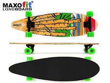 """Longboard Komplettboard """"Cartoon No.05"""",84 cm, 7 Schichten von MAXOfit®"""