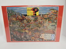 Best of Boston Jigsaw Puzzle F X Schmid 1000 Pieces NEW Factory Sealed