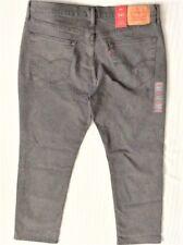 Levi's Men's New 541 0219 36x30 Gray Denim Athletic Fit Jeans Slight Taper-Leg