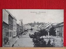 Fotokarte - Winterberg im Böhmerwald - gel 1916 - Vimperk - Marktplatz